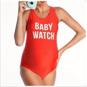 Baby Watch Maternity One Piece Swimsuit